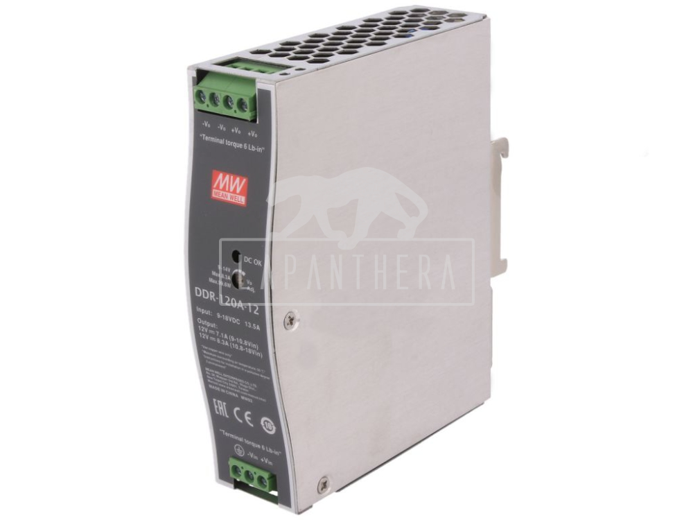 MEAN WELL DDR-120A-12 ~ DC/DC KONVERTER